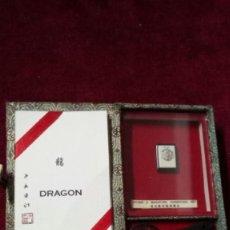 Coleccionismo de minerales: CAJITA DRAGON / INSCRIPCION EN CHINO /ARTE EN MINIATURA /JIYUAN. Lote 151811274