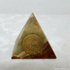 Coleccionismo de minerales: PIRÁMIDE DE ONIX TAURO. Lote 151900277