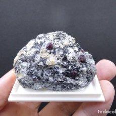 Coleccionismo de minerales: FD MINERALES: GRANATES ALMANDINOS - NIJAR - ALMERÍA - ANDALUCÍA - ESPAÑA - L+189. Lote 153115846
