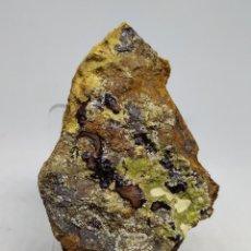 Coleccionismo de minerales: MINERAL KONINCKITA, CALCIOFERRITA, TINTICITA, FLUORAPATITO(CARBONATO). Lote 156128868