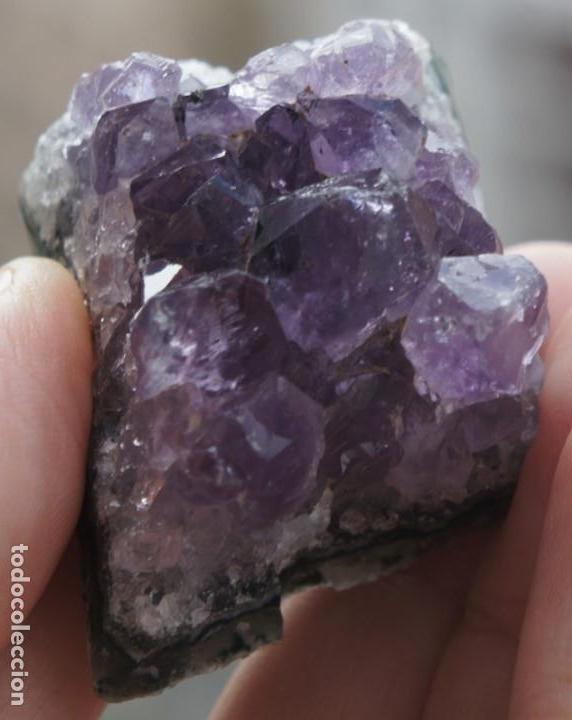 CUARZO AMATISTA (Coleccionismo - Mineralogía - Otros)