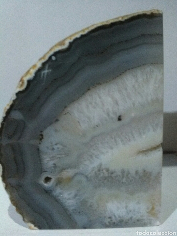 Coleccionismo de minerales: PRECIOSA DRUSA DE ÁGATA.1,4kg - Foto 2 - 159421612