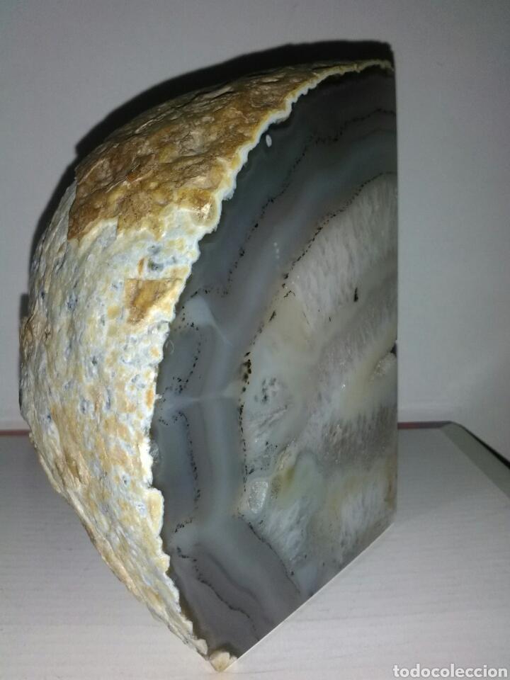 Coleccionismo de minerales: PRECIOSA DRUSA DE ÁGATA.1,4kg - Foto 3 - 159421612