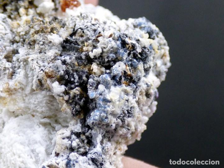 Coleccionismo de minerales: FD MINERALES: GRANATES ESPESARTINA SOBRE ORTOSA CON FLUORITA Y CALCEDONIA - CHINA - MLQ 142 - Foto 19 - 160276270