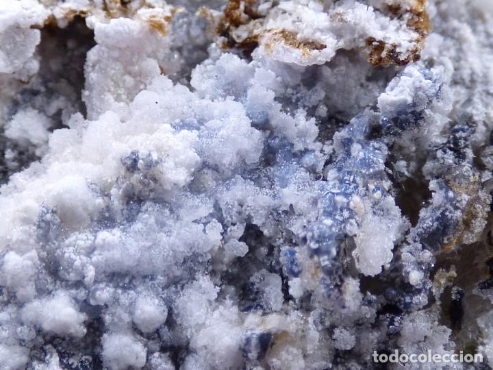 Coleccionismo de minerales: FD MINERALES: GRANATES ESPESARTINA SOBRE ORTOSA CON FLUORITA Y CALCEDONIA - CHINA - MLQ 142 - Foto 22 - 160276270