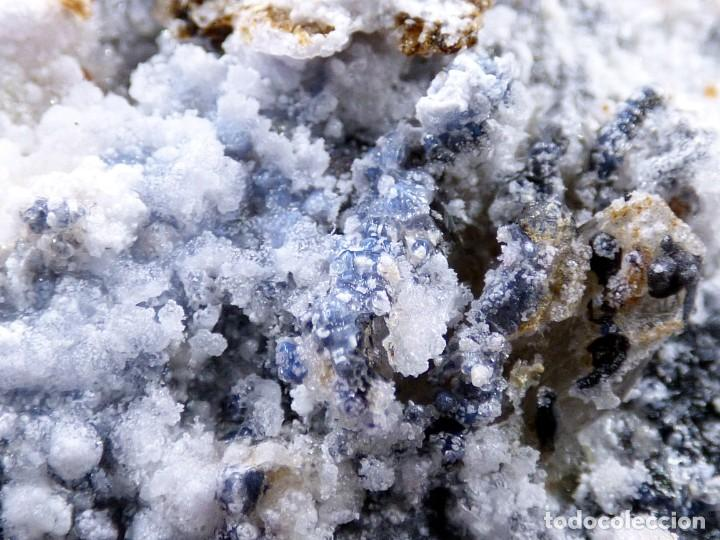 Coleccionismo de minerales: FD MINERALES: GRANATES ESPESARTINA SOBRE ORTOSA CON FLUORITA Y CALCEDONIA - CHINA - MLQ 142 - Foto 23 - 160276270
