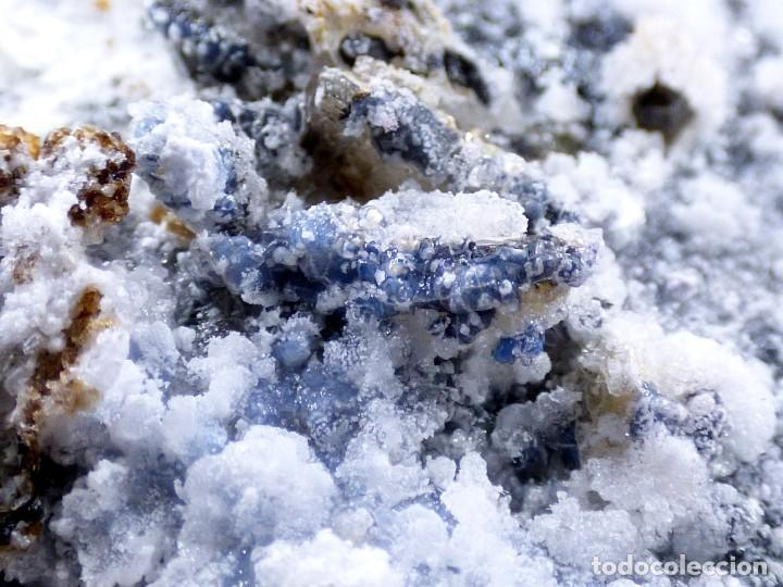 Coleccionismo de minerales: FD MINERALES: GRANATES ESPESARTINA SOBRE ORTOSA CON FLUORITA Y CALCEDONIA - CHINA - MLQ 142 - Foto 24 - 160276270