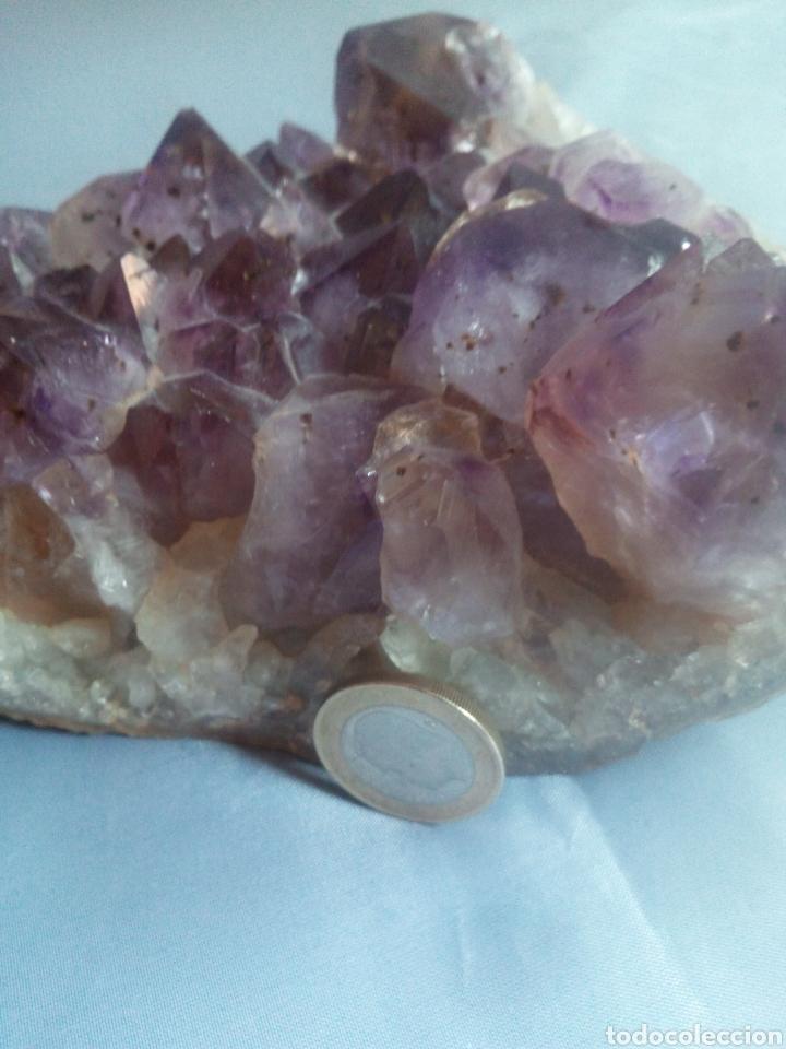 Coleccionismo de minerales: geoda amatista - Foto 3 - 166682166