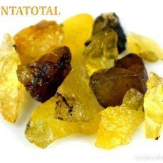 Coleccionismo de minerales: ZAFIROS AMARILLOS EN BRUTO DE 57,55 KILATES CERTIFICADO - DE 1 A 2,50 CENTIMETROS MAS O MENOS -Nº27. Lote 168978176