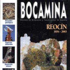 Coleccionismo de minerales: REVISTA BOCAMINA. Nº 8. 2001. MINAS DE REOCÍN. MINERALES, MINAS. Lote 169022892