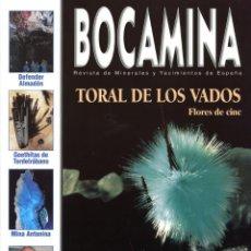 Coleccionismo de minerales: REVISTA BOCAMINA. Nº 10. 2002. MINA DE TORAL DE LOS VADOS . MINERALES, MINAS. Lote 169023092