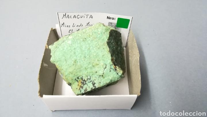 Coleccionismo de minerales: MALAQUITA - MINERAL en caja 6,5x6,5cm - Foto 2 - 171799120