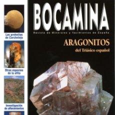 Coleccionismo de minerales: REVISTA BOCAMINA. Nº 16. AÑO 2005. ARAGONITOS. MINERALES, MINAS. Lote 189726770