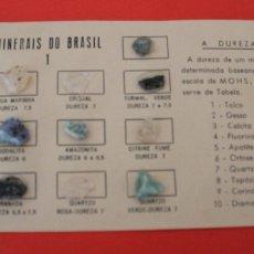 Coleccionismo de minerales: COLECCION 14 MINERALES MINERALES DE BRASIL MINERAIS DO BRASIL. Lote 173858634