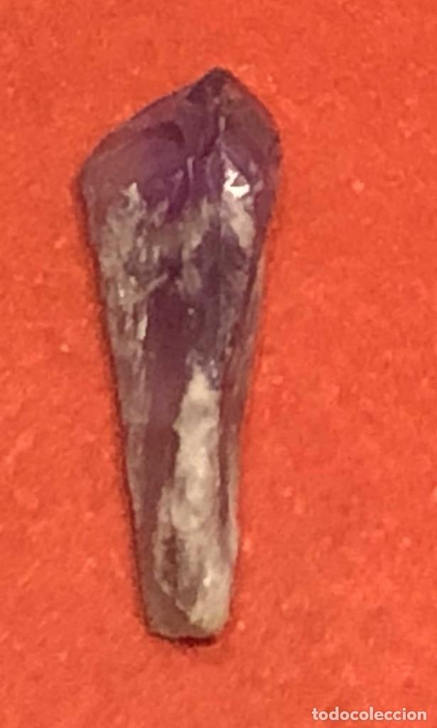 Coleccionismo de minerales: PEQUEÑO CRISTAL NATURAL DE AMATISTA, PROPIO COLECCIONISMO, REIKI, CEREMONIAL - Foto 2 - 173898717