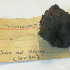 Coleccionismo de minerales: PSILOMELANA. Lote 174022557