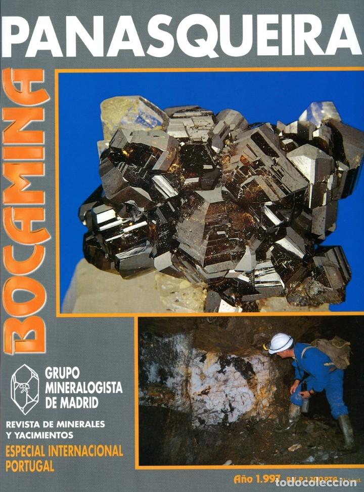 REVISTA BOCAMINA. Nº EXTRA. AÑO 1997. MINAS DE PANASQUEIRA (PORTUGAL). MINERALES, MINAS (Coleccionismo - Mineralogía - Otros)