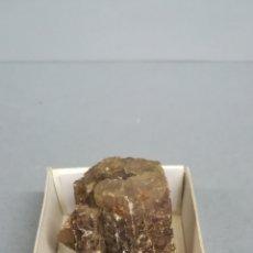 Coleccionismo de minerales: ARAGONITO - MINERAL. EN CAJA 4X4 CM. Lote 176234300