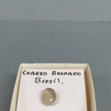 Coleccionismo de minerales: CUARZO AHUMADO - MINERAL. EN CAJA 4X4 CM. Lote 177694612