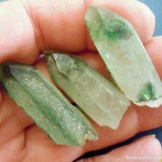Coleccionismo de minerales: CUARZOS PRASIOS-TIBET-CHINA Y-430. Lote 178192926