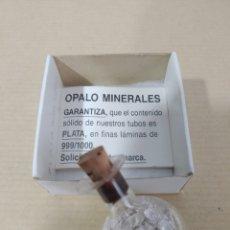 Coleccionismo de minerales: FINAS LÁMINAS DE PLATA 999/1000 EN TUBO. Lote 178293957