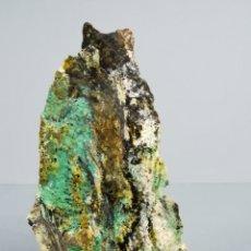 Coleccionismo de minerales: CRISOCOLA - MALAQUITA - MINERAL. Lote 178791590