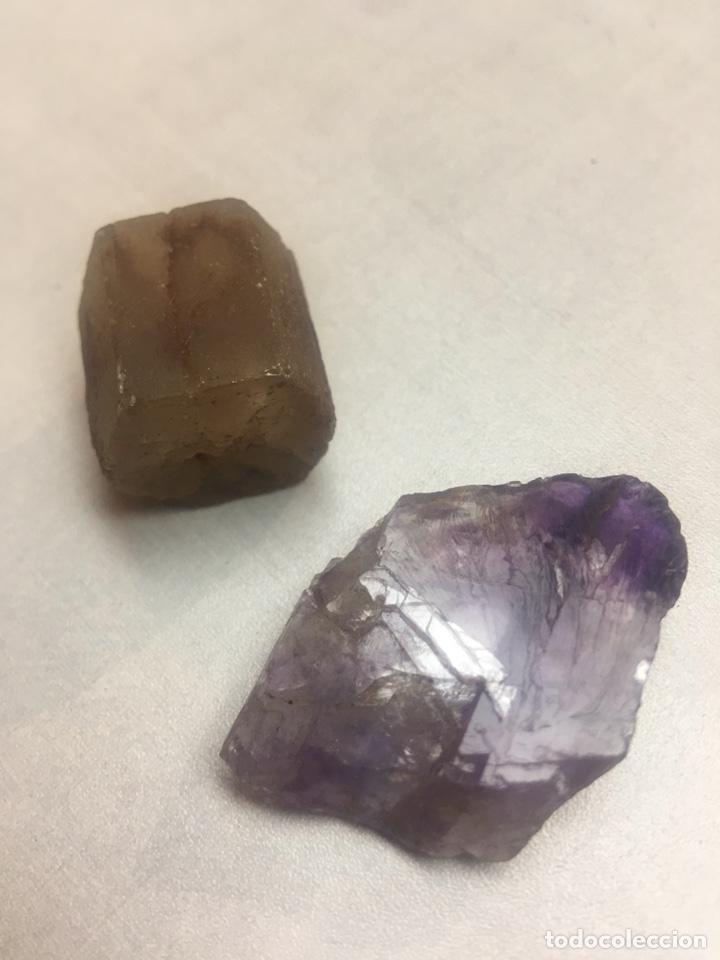 Coleccionismo de minerales: PIEDRAS MINERALES - SIN IDENTIFICAR - 2 PIEZAS - Foto 2 - 178855377