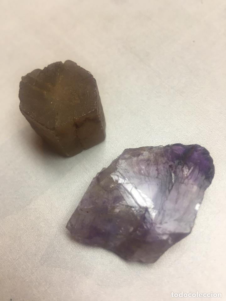 PIEDRAS MINERALES - SIN IDENTIFICAR - 2 PIEZAS (Coleccionismo - Mineralogía - Otros)