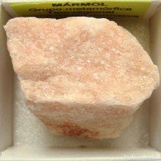 Coleccionismo de minerales: MÁRMOL ROSA. Lote 178981515