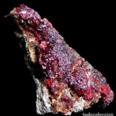 Coleccionismo de minerales: CINABRIO – CINNABAR – ALMADEN, CIUDAD REAL, ESPANA - SPAIN. Lote 180119782