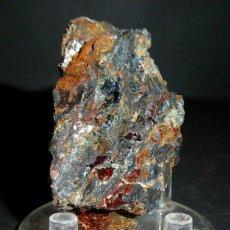 Coleccionismo de minerales: LIBETHENITA – LIBETHENITE – MINA – MINE MIGUEL VACAS, CONCEIÇÃO, VILA VIÇOSA, ÉVORA, PORTUGAL . Lote 180120561