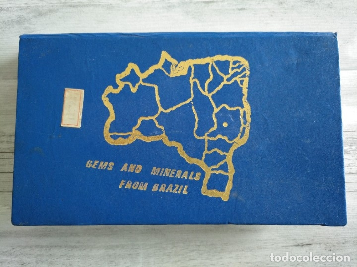 Coleccionismo de minerales: GEMAS Y MINERALES DE BRASIL - COLECCIÓN DE 20 - Foto 2 - 181406601