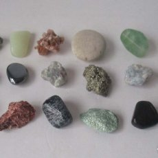 Coleccionismo de minerales: COLECCION DE 18 MINERALES. Lote 181546107