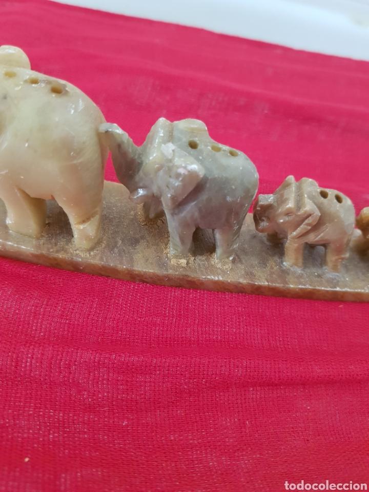 Coleccionismo de minerales: Elefantitos onix 18cm por 5cm - Foto 2 - 182688525