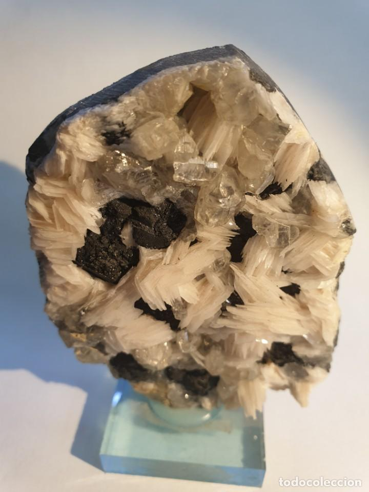 MINERAL BARITA CERUSITA Y GALENA (Coleccionismo - Mineralogía - Otros)