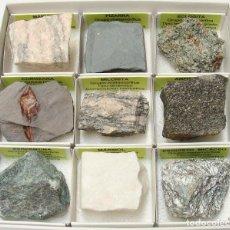 Coleccionismo de minerales: COLECCIÓN BÁSICA DE ROCAS METAMÓRFICAS. Lote 183746345