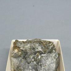 Coleccionismo de minerales: CALCOPIRITA - MINERAL. EN CAJA 4X4. Lote 184291877