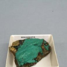 Coleccionismo de minerales: MALAQUITA - MINERAL. EN CAJA 4X4 CM. Lote 184292373