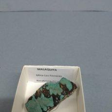 Coleccionismo de minerales: MALAQUITA - MINERAL. Lote 186312927