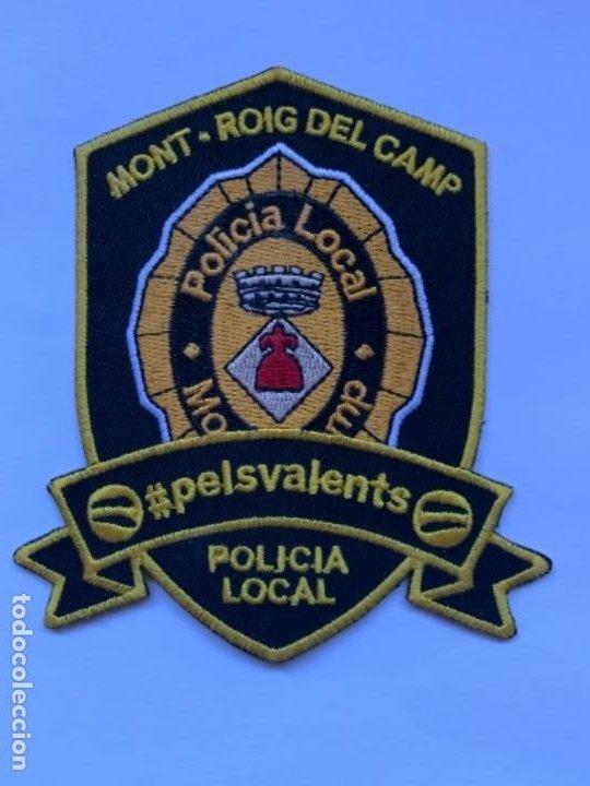 ESCUDO DE LA POLICÍA LOCAL DE MONT-ROIG DEL CAMP (Coleccionismo - Mineralogía - Otros)