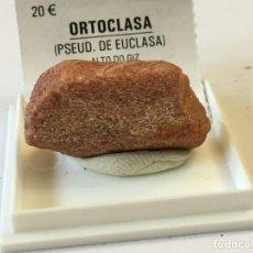 Coleccionismo de minerales: ORTOCLASA (PSEUDO DE EUCLASA). Lote 187539126