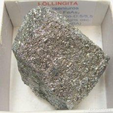 Coleccionismo de minerales: FORMATO 5 X 5 - LOLLINGUITA. Lote 190173517