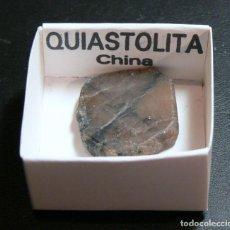 Collectionnisme de minéraux: QUIASTOLITA. Lote 190283315