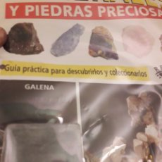 Coleccionismo de minerales: MINERALES Y PIEDRAS PRECIOSAS RBA GALENA. Lote 190474801
