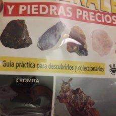 Coleccionismo de minerales: MINERALES Y PIEDRAS PRECIOSAS RBA CROMITA. Lote 190474957