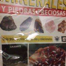 Coleccionismo de minerales: MINERALES Y PIEDRAS PRECIOSAS RBA GRANATE. Lote 190475087