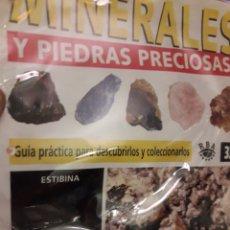Coleccionismo de minerales: MINERALES Y PIEDRAS PRECIOSAS RBA ESTIBINA. Lote 190475206
