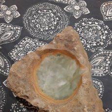Coleccionismo de minerales: CENICERO ONIX VERDE. Lote 190929033
