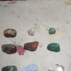 Coleccionismo de minerales: LOTE DE 9 PIEDRAS SEMIPRECIOSAS. Lote 191100102