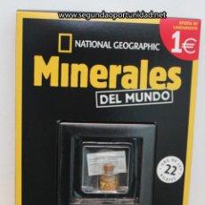 Coleccionismo de minerales: ORO - MINERALES DEL MUNDO. Nº 1 DE LA COLECCIÓN. Lote 175922127